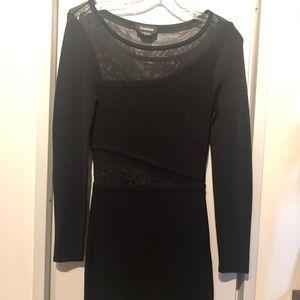Black bandage dress   bebe